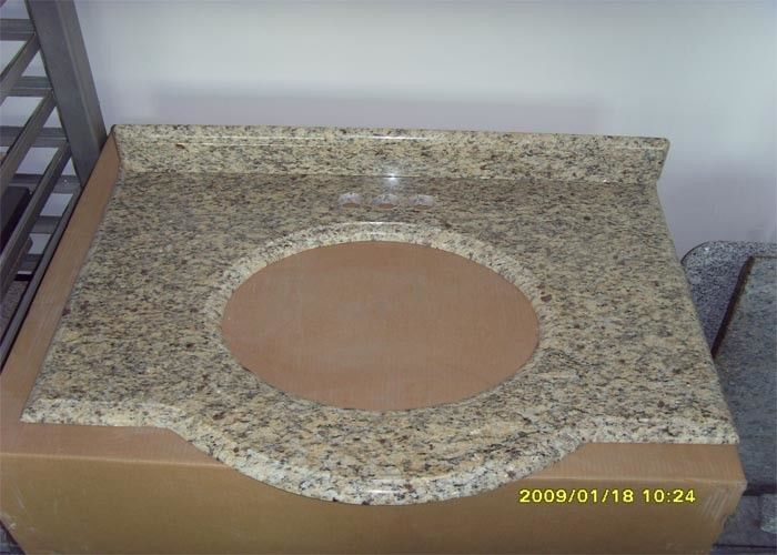 Natural Stone Granite Countertops , Giallo Santa Cecilia Custom Granite Countertops
